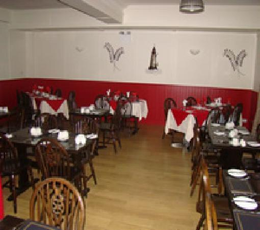 Bundoran, Ireland: dining room