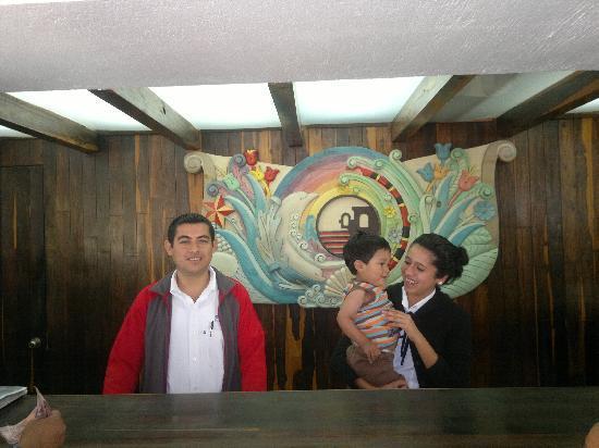 Villa Varadero Hotel & Suites: La recepcion