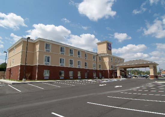 Sleep Inn & Suites Hiram: We look forward to seeing you!