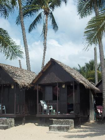 New Hut Bungalows: our beach hut