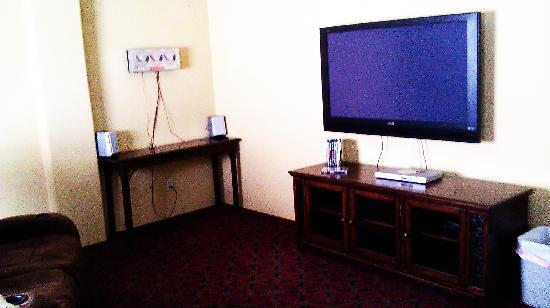 Jerome Grand Hotel: TV room