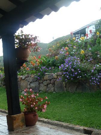 Hospederia Duruelo: beautiful gardens