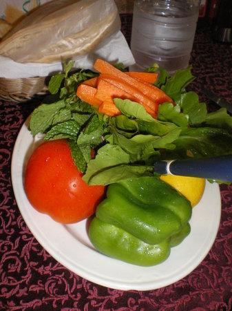 automatic : Gratis Gemüseteller
