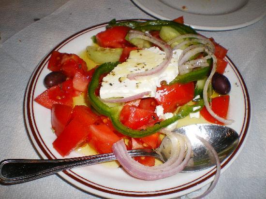 Club Neon Restaurant: Griech. Salat
