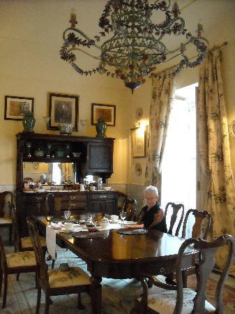 Casa Palacio Conde de la Corte: Breakfast room