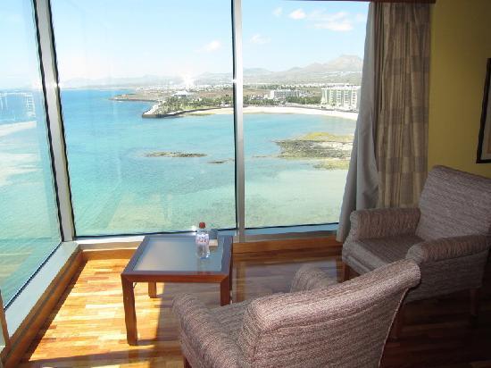 Arrecife Gran Hotel & SPA: seaview