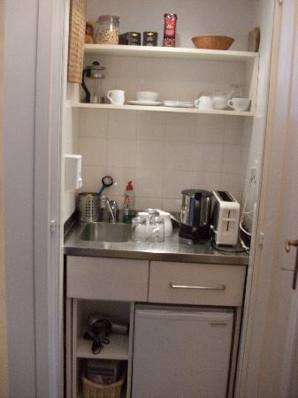 Captivating Bed And Breakfast Petra Varl: Smallest Kitchen In The World!