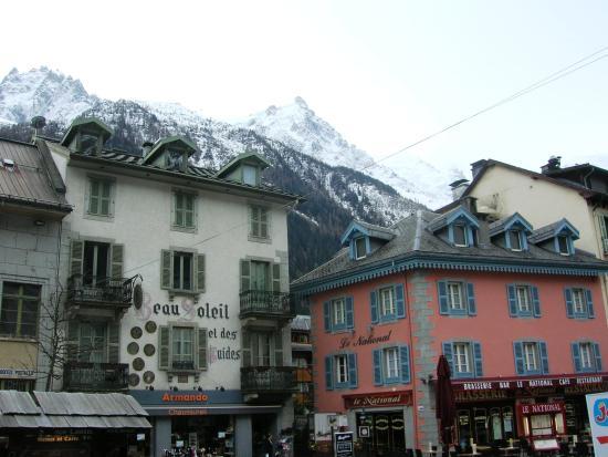 La Potiniere: View from Terrace