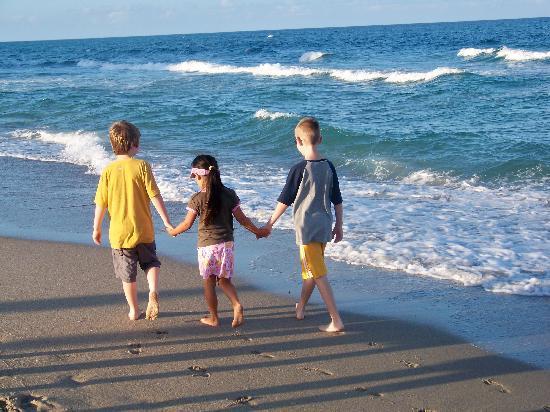 Palm Beach Shores Resort & Vacation Villas: A great beach for walks