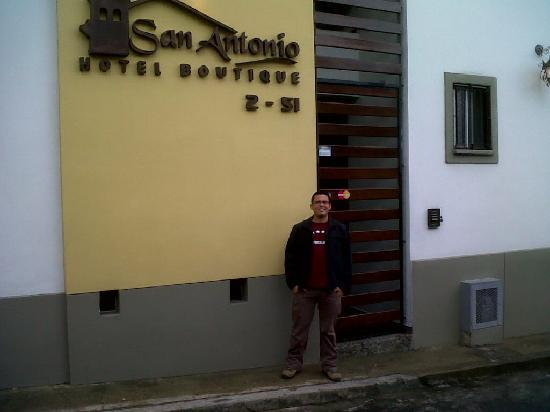 Boutique San Antonio Hotel: Entrada al hotel