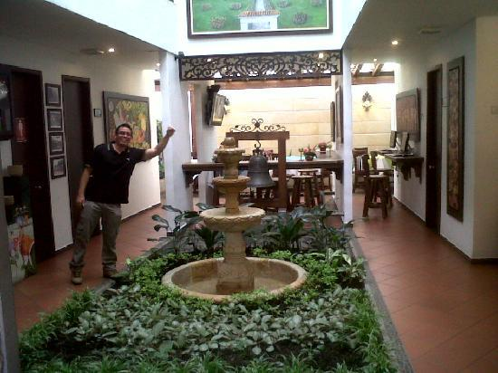 San Antonio Hotel Boutique: Dentro del hotel