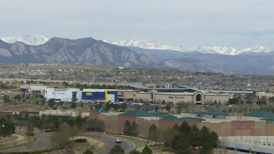 rocky mountain view from balcony picture of omni. Black Bedroom Furniture Sets. Home Design Ideas
