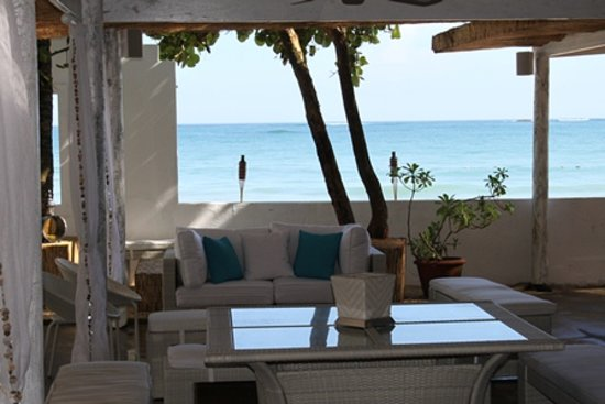 Hosteria Del Mar: Beach Lounge