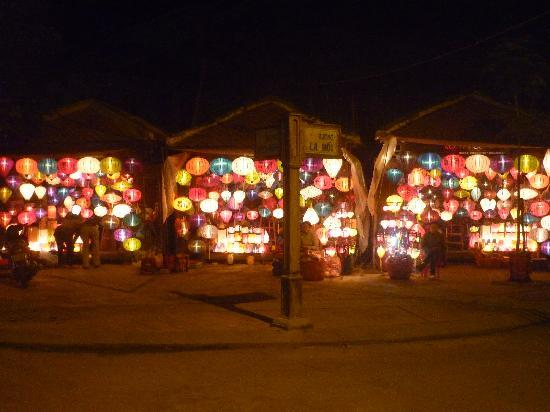 Hoi An, Vietnam: Lanterns at for sales
