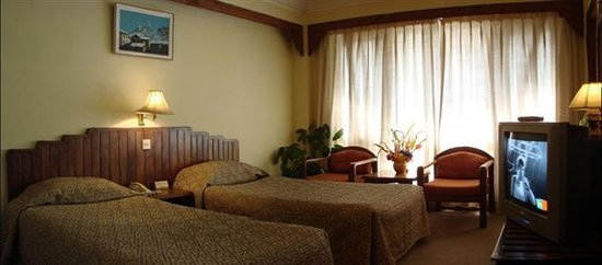 Nirvana Garden Hotel: Double Twin Room