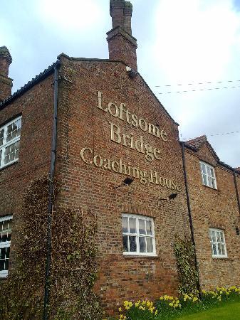Loftsome Bridge Coaching House - External View