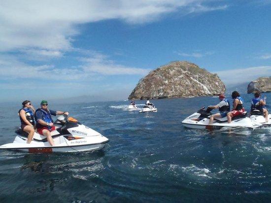 Eco Explorer Jet Ski Safari: snorkeling puerto vallarta