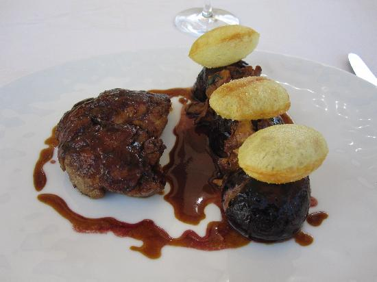 Château de Courcelles: ris de veau
