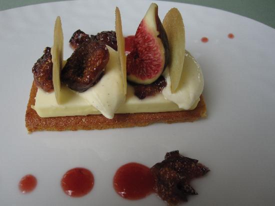 Château de Courcelles: desset à la figue