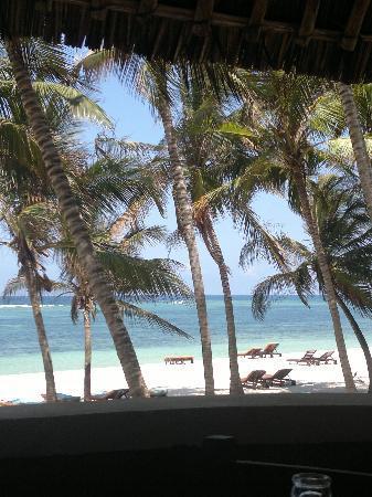SheShe Baharini Beach Hotel: vista dal ristorante