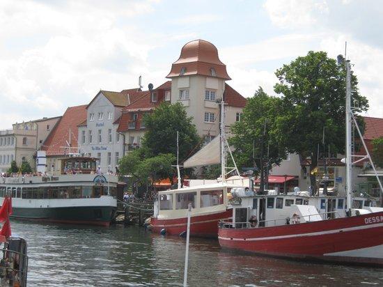 Rostock, Alemania: Am alten Strom - direkt