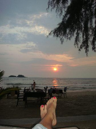 The Dewa Koh Chang: dinner time :)