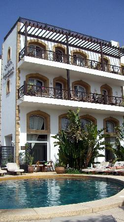pool and back of ov picture of hotel ocean vagabond essaouira rh tripadvisor com