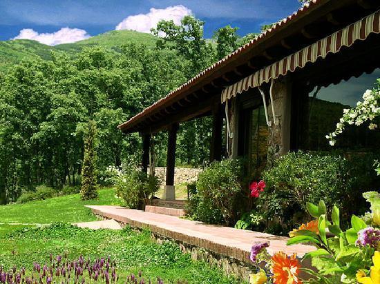 Hotel Rural El Camino: Portal de la casa