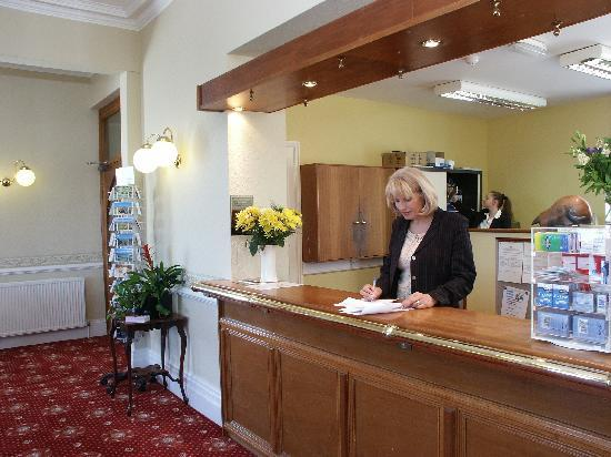 Merrion Hotel: a warm welcome at check in