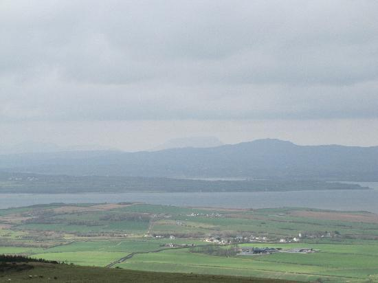 Grianan Of Aileach : View of Irish Countryside