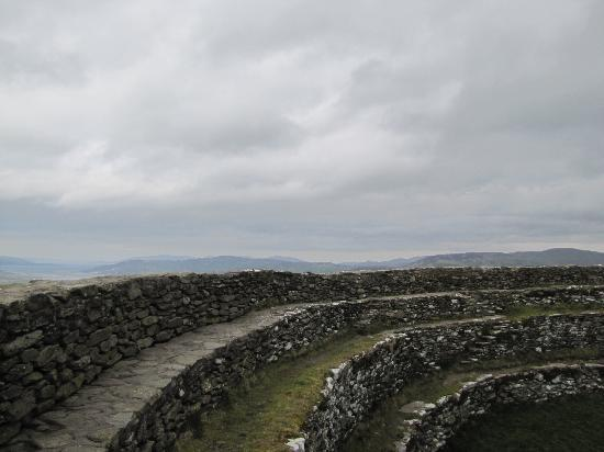 Grianan Of Aileach: View from Inside the Ring