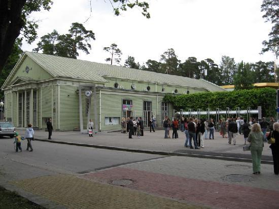 Concert hall Dzintari in Jurmala