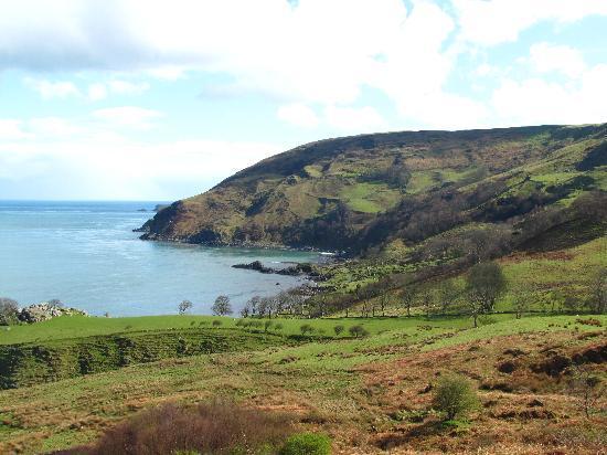 Antrim Coast Road: Bay at End of Murlough Rd