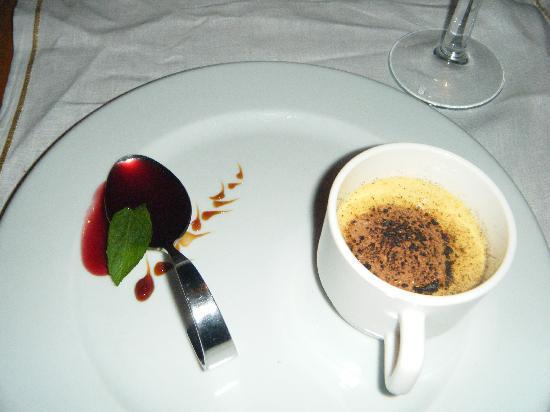 Paloma Grida Resort & Spa: Creme Brulee at Seasons