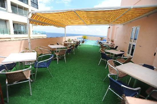 Astra Hotel: Roof Terrace