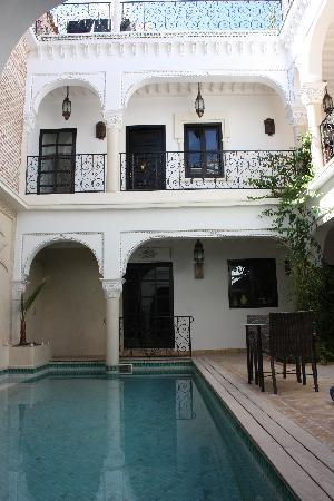 Riad La Villa Marrakech: Patio