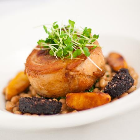 ART Restaurant: Slow roast pork belly with haricot beans