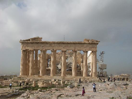 Acrópolis: Partenón