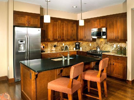 Kitchen (Condo 5111)  at Water House on Main Street Breckenridge, a ResortQuest resort