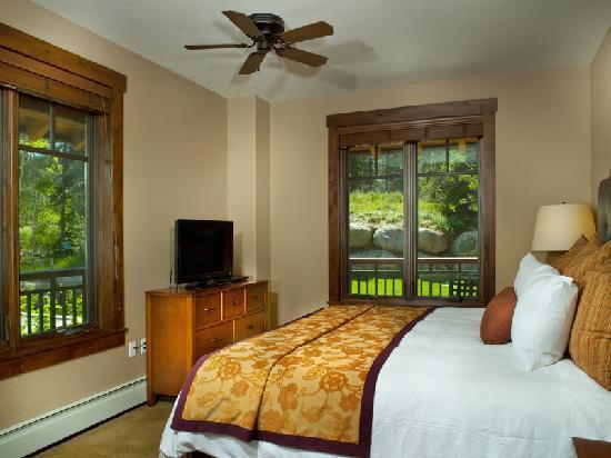 Bedroom (Condo 5111) at Water House on Main Street Breckenridge, a ResortQuest resort