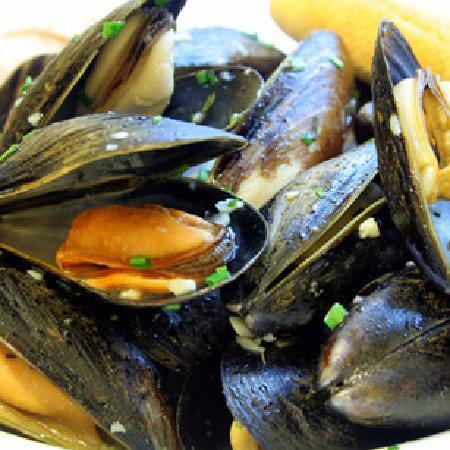 Merrion Hotel: Conwy Mussels
