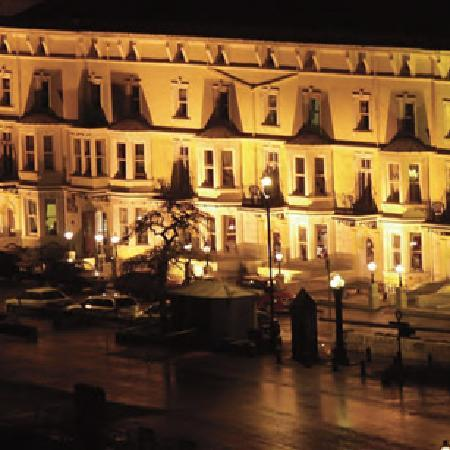 Merrion Hotel: Hotel at night