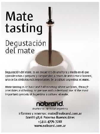 Nobrand: Mate tasting /  Cata de mate