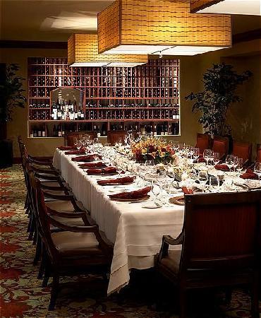 Fairmont Newport Beach: bambú Restaurant Wine Cellar