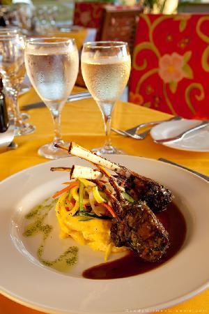 The Tides: Rack of lamb
