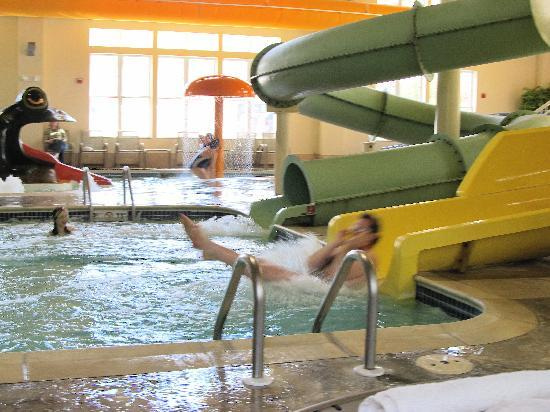 Hampton Inn & Suites North Conway: Slides!