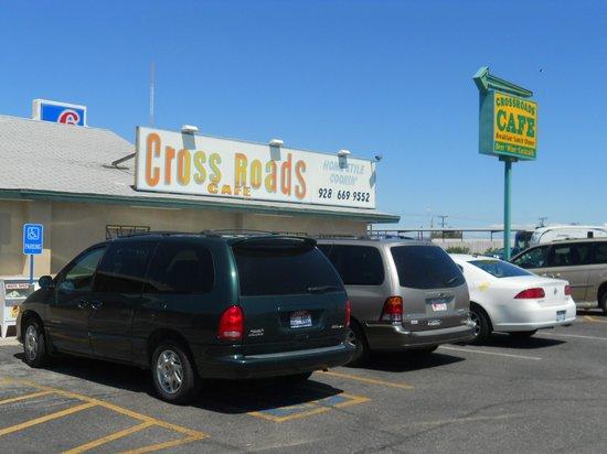 Crossroads Cafe: Exterior view