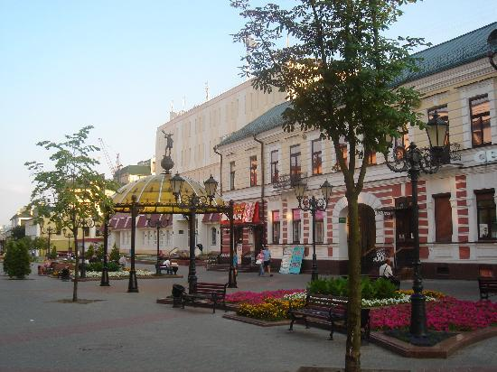 Brest, Bielorrússia: Sovetskaja street