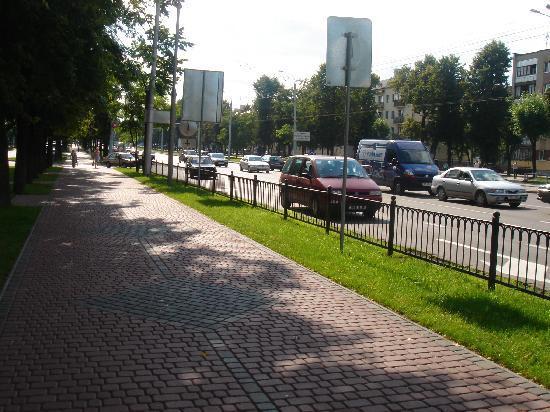 Brest, Białoruś: Pr Masherova
