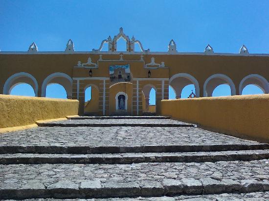 Izamal, Mexiko: la parroquia